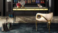 accent chairs Accent Chairs for a Bold Luxury Interior Design Inside Home Interiors eternity chandelier chandra chair exotica desk koket projects 233x132