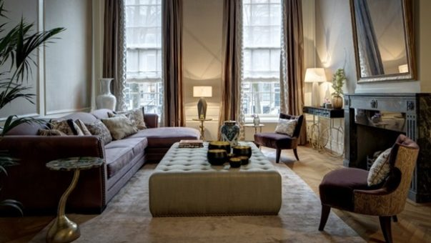 Modern Luxury Interior Design A Canal House in Amsterdam with a Modern Luxury Interior Design Room Decor Ideas A Canal House in Amsterdam with a Modern Luxury Interior Design House Tour 1 603x340