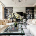 alexander mcqueen house Celebrity Homes: Alexander McQueen House Restoration in London Celebrity Homes Alexander McQueens House Restoration in London living room black and white 1 120x120