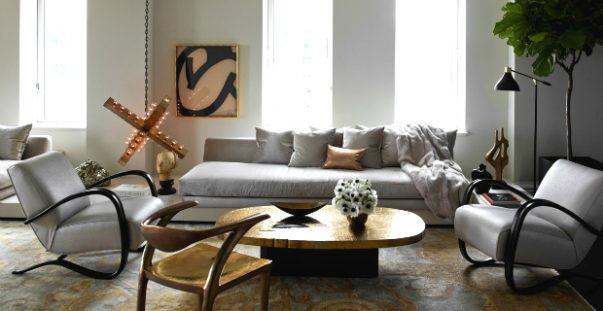 stylish apartment Celebrity Homes: Ivanka Trump Stylish Apartment in Manhattan Celebrity Homes Ivanka Trump stylish Manhattan Apartment 603x311