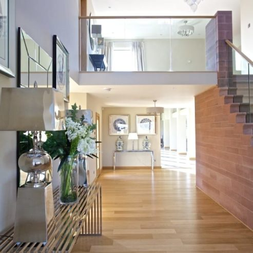 luxurious look 8 Modern Hallways that will give your Home a Luxurious Look henderson landing 493x493