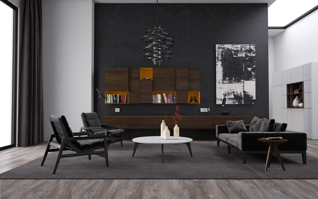 black living room ideas 8 Black Living Room Ideas to Improve your Home Decor 8 Black Living Room Ideas to Improve your Home Decor3