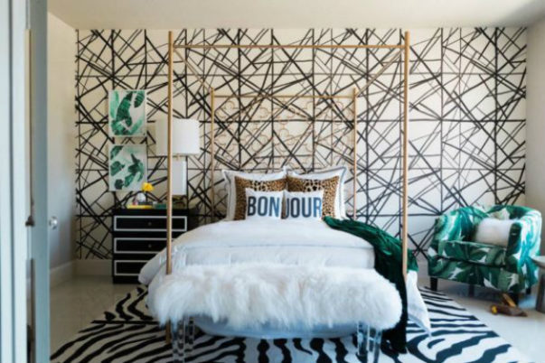kelly wearstler Kelly Wearstler Shares the Best Tips to Choose Wallpapers Room Decor Ideas Beautiful Bedrooms by Kelly Wearstler to Copy this Summer Luxury Bedroom Luxury Interior Design Bedroom Ideas 8 e1464791858504 603x402