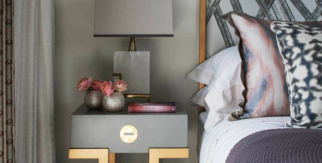 table lamps Stylish Ways to Light Your Bedside With Table Lamps How to style a bedside table