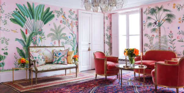 aquazzura The Astonishing Aquazzura & de Gournay Collaboration The Astonishing Aquazzura de Gournay Collaboration 14 603x306