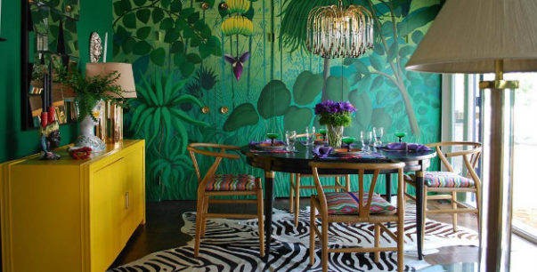 tropical green rooms Tropical Green Rooms Decorating Ideas For Summer Tropical Green Rooms Decorating Ideas For Fall 7 1 603x306