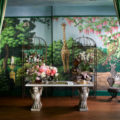 wallpaper collection Magical Wallpaper Collection by de Gournay & Ken Fulk Fulk Kips Bay 80fet 120x120