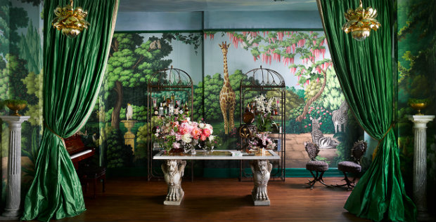 wallpaper collection Magical Wallpaper Collection by de Gournay & Ken Fulk Fulk Kips Bay 80fet