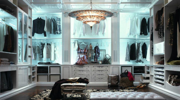 Closet Decor Ideas 5 Closet Decor Ideas You'll Want to Steal for Your Home Luxurious Closet Designs Picture 3 603x335