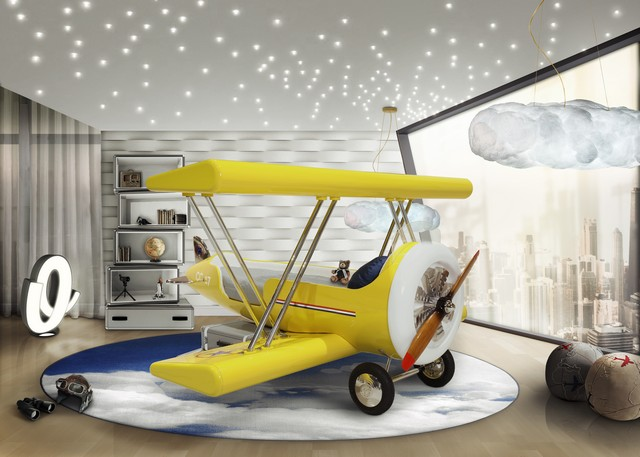 Kids Bedroom Decor This AIrplane Bed Is Perfect For Your Kids Bedroom Decor Kids Bedroom Ideas The Perfect Airplane Bed for your Little Ace 2