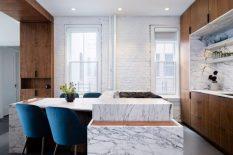 Attn Attn Studio Designed a Uniquel Contemporary Home in Lenox Hill