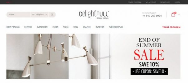 Online Lighting Stores The Best Online Lighting Stores That Offer Luxury Pieces with Discount The Best Online Lighting Stores That Offer Luxury Pieces with Discount 3 603x267