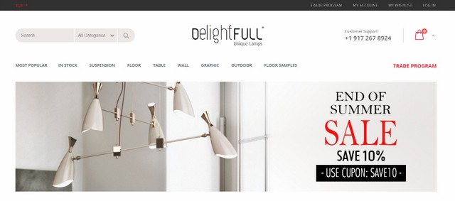 Online Lighting Stores The Best Online Lighting Stores That Offer Luxury Pieces with Discount The Best Online Lighting Stores That Offer Luxury Pieces with Discount 3