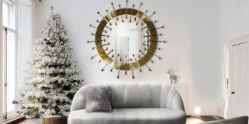 Mid-Century Christmas Have a Mid-Century Christmas with these Incredible Living Room Ideas For that Mid Century Modern Home that is All We Want for Christmas 4 350x175