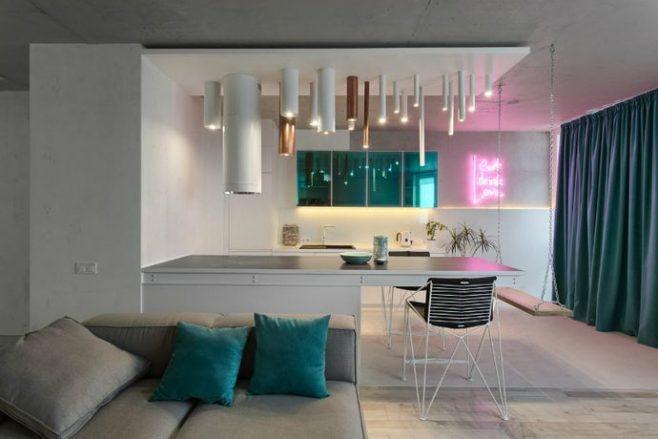 Lauri Brothers Design an Incredible Scandinavian Apartment in Kiev
