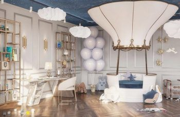 Kids Bedroom Ideas - A Luxury Boy's Bedroom in Moscow by A3Design