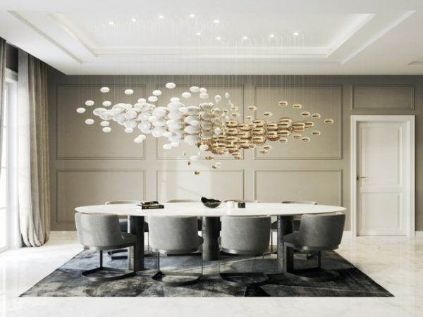 Euroluce 2019 - San Soucci's Amazing Dining Room Lighting  Euroluce 2019 – San Souci's Amazing Dining Room Lighting Euroluce 2019 San Souccis Amazing Dining Room Lighting 1 600x450