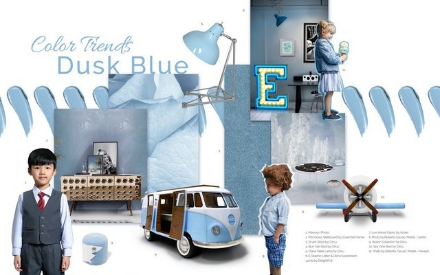 Kids Interior Design Trends 2019 – Dusk Blue is the Colour of the Month Kids Interior Design Trends 2019 Dusk Blue is the Colour of the Month 5