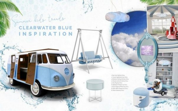 Interior Design Trends 2019 - Clearwater Blue for Kids  Interior Design Trends 2019 – Clearwater Blue for Kids Interior Design Trends 2019 Clearwater Blue for Kids 6 603x377