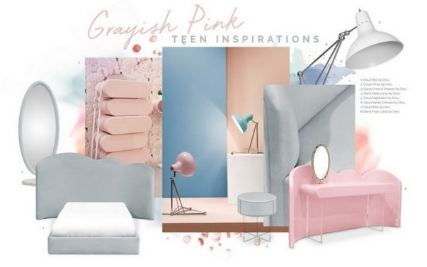 Kids Decor Trends – Pink and Grey is Perfect for Teenage Girls Kids Decor Trends Pink and Grey is Perfect for Teenage Girls 6 603x377