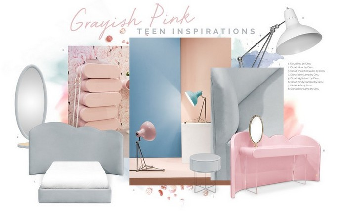 Kids Decor Trends – Pink and Grey is Perfect for Teenage Girls Kids Decor Trends Pink and Grey is Perfect for Teenage Girls 6