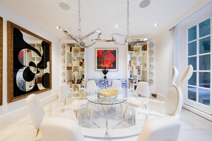 A Luxurious Modern Villa Decor in London A Luxurious Modern Villa Decor in London5