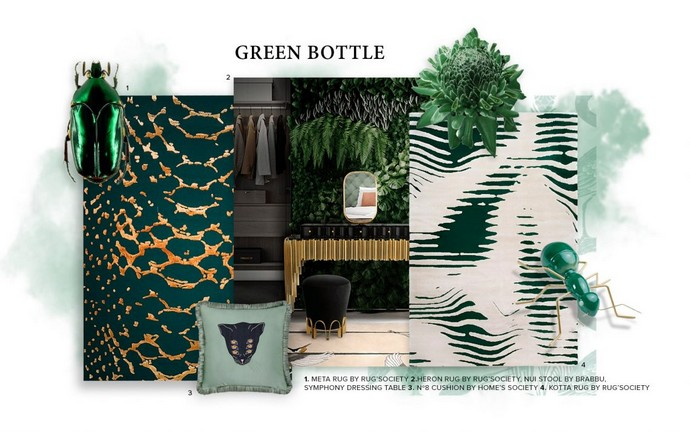 How to Bring Bottle Green to Your Home
