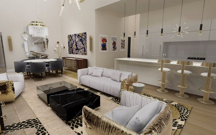 Interior Design Inspiration – Shop the Covet NYC's Look Interior Design Inspiration Shop the Covet NYCs Look 2