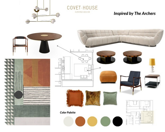 Interior Design Moodboards Inspired by Top Designers Interior Design Moodboards Inspired by Top Designers 1