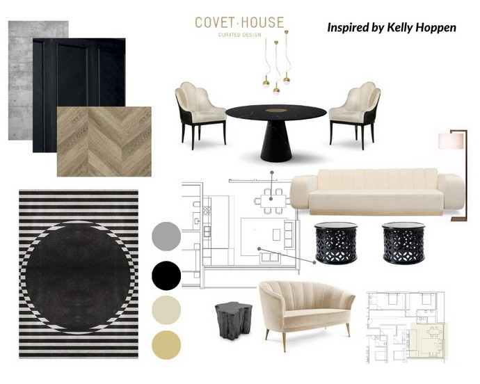 Interior Design Moodboards Inspired by Top Designers Interior Design Moodboards Inspired by Top Designers 3