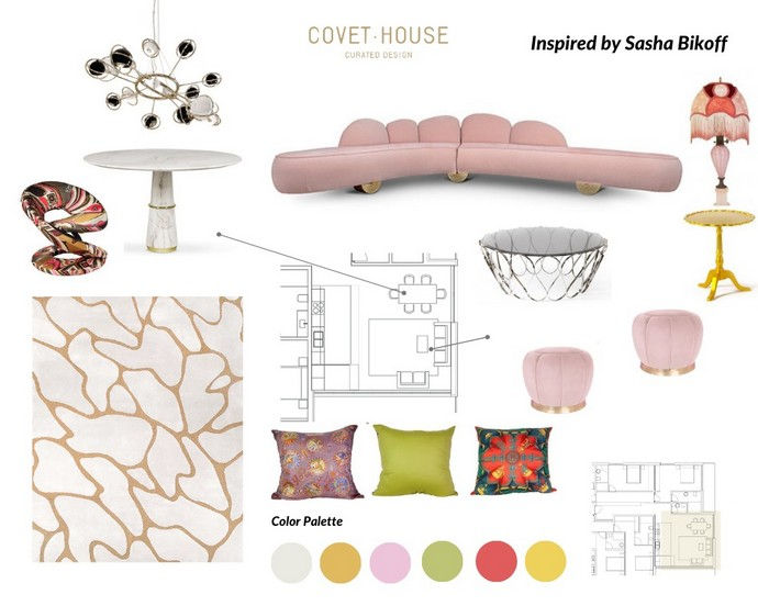 Interior Design Moodboards Inspired by Top Designers Interior Design Moodboards Inspired by Top Designers 5