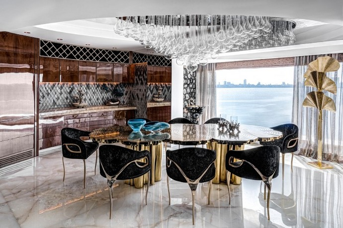 ZZ Architects Unveiled a Luxury Apartment in Mumbai  ZZ Architects Unveiled a Luxury Apartment in Mumbai ZZ Architects Unveiled a Luxury Apartment in Mumbai 2