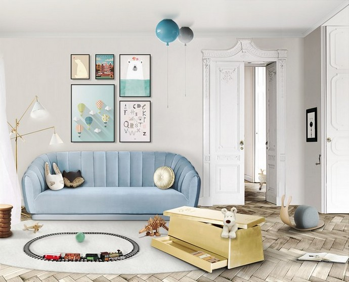 Baby Blue Decor For Your Kids Bedroom Baby Blue Decor For Your Kids Bedroom 5