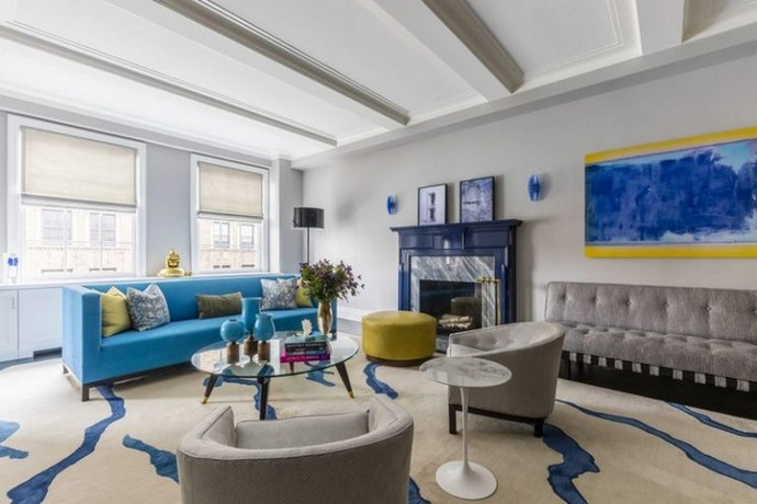 Halpern Design Created a Colourful Duplex at the Upper East Side Halpern Design Created a Colourful Duplex at the Upper East Side 1