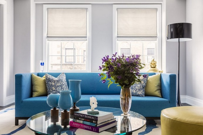 Halpern Design Created a Colourful Duplex at the Upper East Side