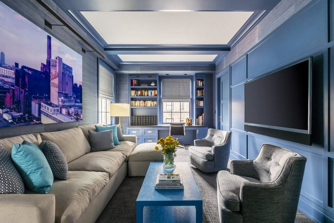 Halpern Design Created a Colourful Duplex at the Upper East Side Halpern Design Created a Colourful Duplex at the Upper East Side 3