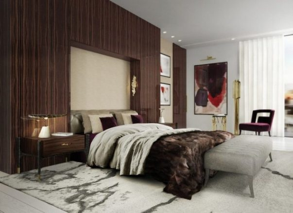 Interior Design Trends 2020 - Contemporary Bedroom Decor Ideas You'll Love  Interior Design Trends 2020 – Contemporary Bedroom Decor Ideas You'll Love Interior Design Trends 2020 Contemporary Bedroom Decor Ideas Youll Love 1 603x439