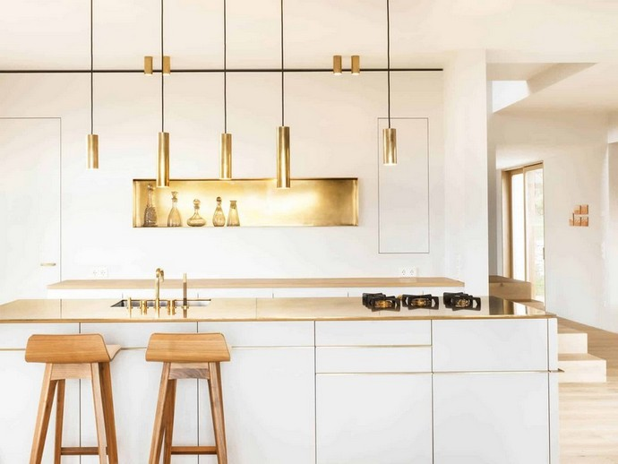 Kitchen Decor Ideas – Glam it up with Brass Details Kitchen Decor Ideas Glam it up with Brass Details 1