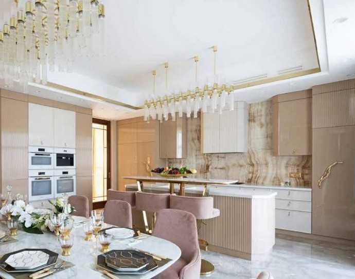 Kitchen Decor Ideas – Glam it up with Brass Details Kitchen Decor Ideas Glam it up with Brass Details 4