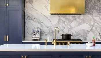 Kitchen Decor Ideas – Glam it up with Brass Details Kitchen Decor Ideas Glam it up with Brass Details 5 350x204