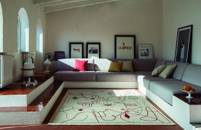 Silhouette Rug by Jaime Hayon for nanimarquina Best Interior Designers for Kids Luxury Antonovich Design 5