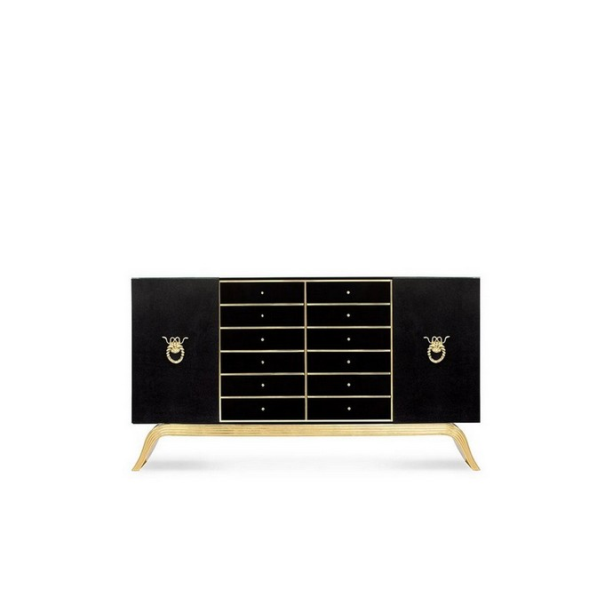 Mate Black Metallic Sideboards Are The Thing Right Now Mate Black Metallic Sideboards Are The Thing Right Now 2