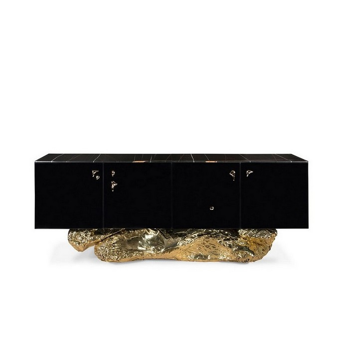 Mate Black Metallic Sideboards Are The Thing Right Now Mate Black Metallic Sideboards Are The Thing Right Now 4