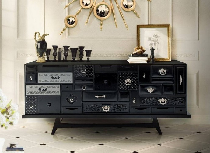 Mate Black Metallic Sideboards Are The Thing Right Now Mate Black Metallic Sideboards Are The Thing Right Now 5